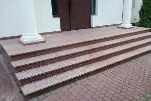 Schody Warszawa - kamienie na miare